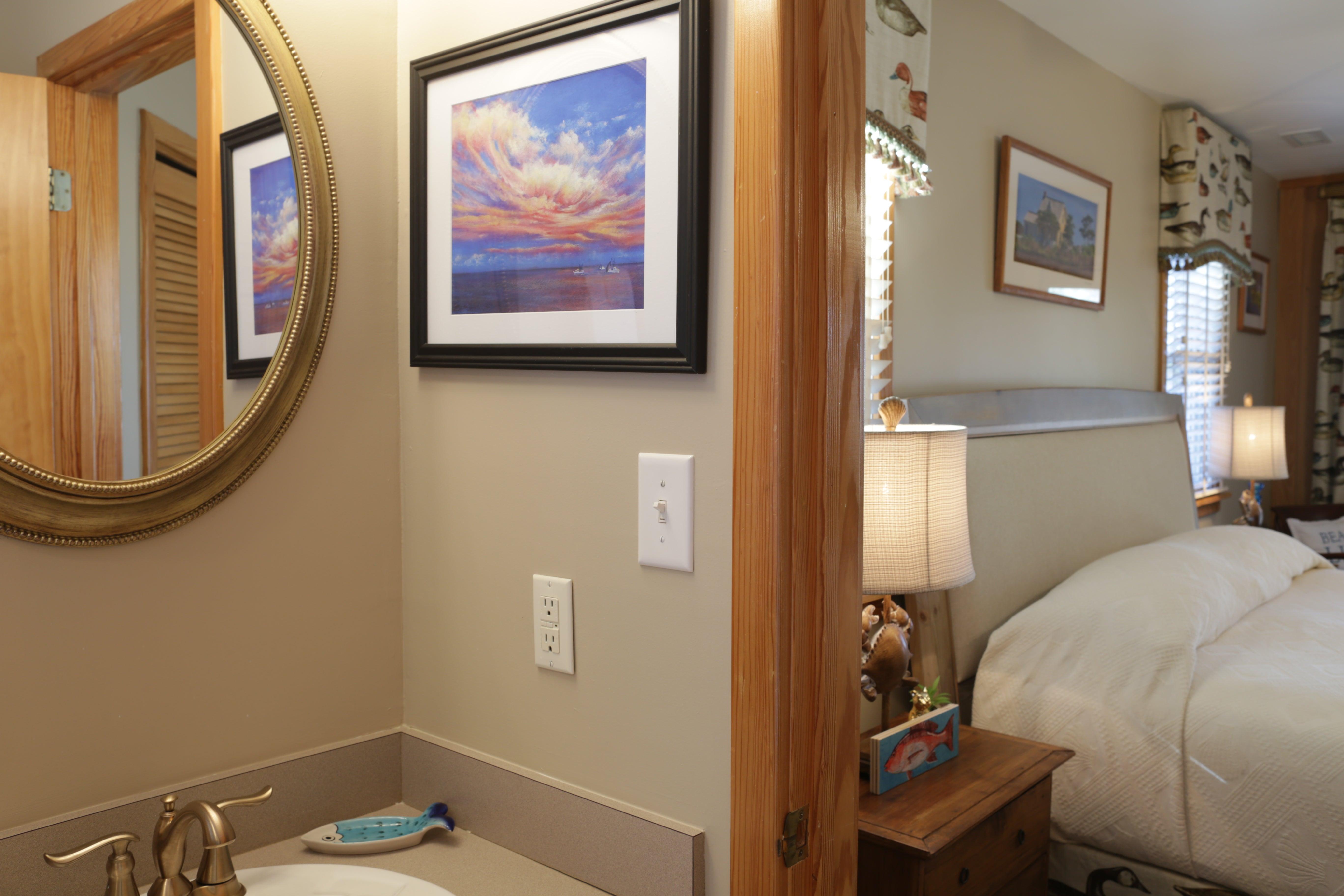 CV5A Bathroom Bedroom View A