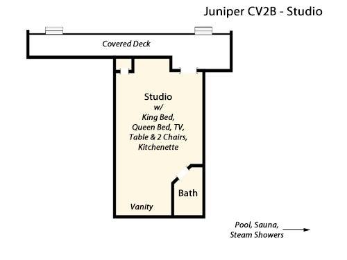 CV2B: Juniper B l Floor Plan